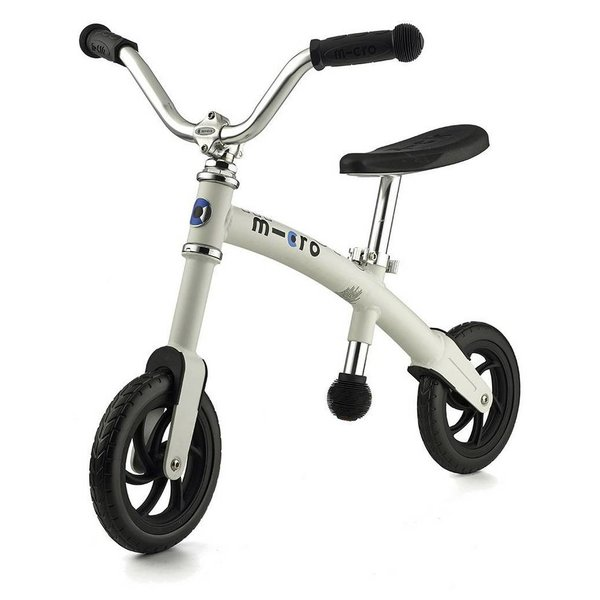 WHITE MICRO G-BIKE - 2-5 YEARS