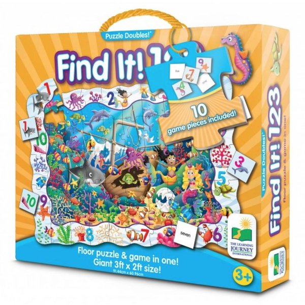PUZZLE DOUBLES! FIND IT! MERMAID