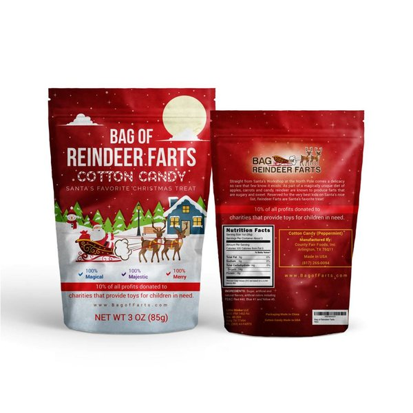 BAG OF REINDEER FARTS(CURRENTLY SOLD OUT)