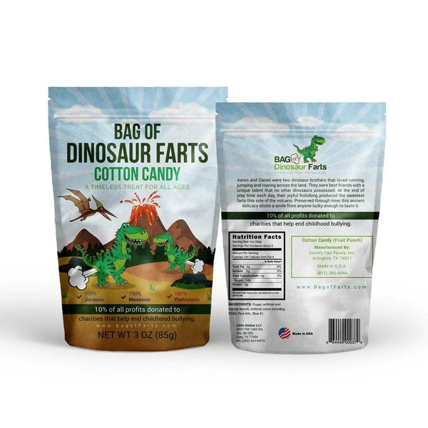 BAG OF DINOSAUR FARTS