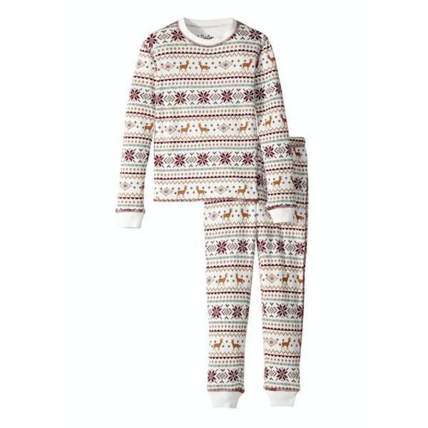 PRESCHOOL GIRL FAIR ISLE JAMMIE SET