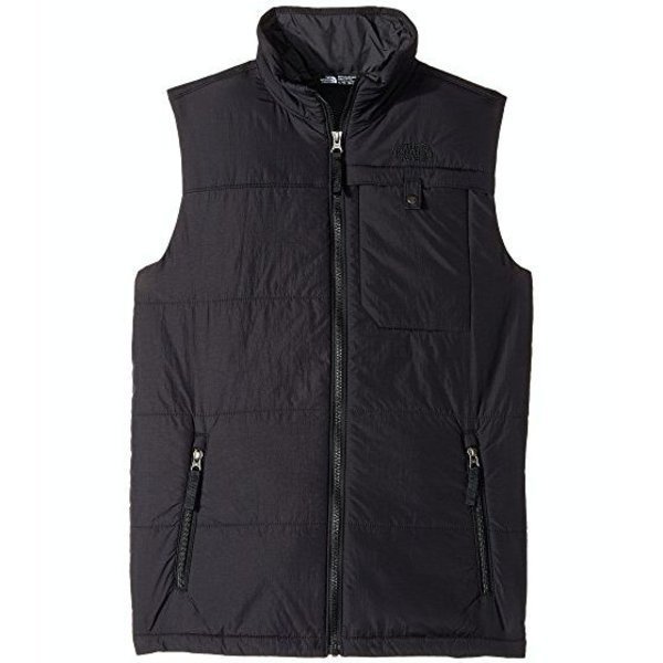BOYS HARWAY VEST - BLACK