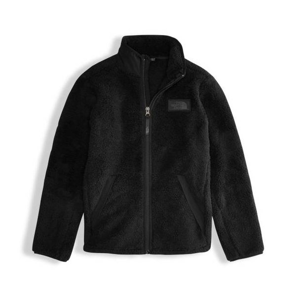 BOYS CAMPSHIRE FULL ZIP JACKET - TNF BLACK