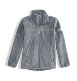 THE NORTH FACE GIRLS CAMPSHIRE FULL ZIP JACKET - MID GREY