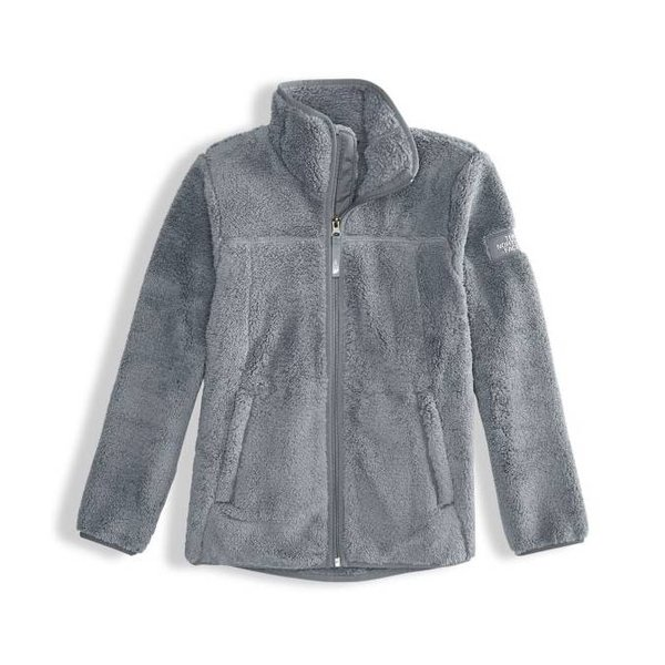 GIRLS CAMPSHIRE FULL ZIP JACKET - MID GREY