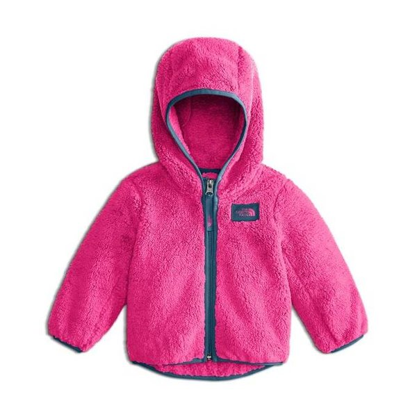 0d457b17246f THE NORTH FACE INFANT GIRLS CAMPSHIRE FULL ZIP JACKET - PETTICOAT PINK