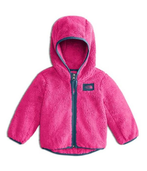THE NORTH FACE INFANT GIRLS CAMPSHIRE FULL ZIP JACKET - PETTICOAT PINK