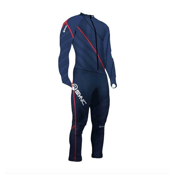 PADDED RACING SUIT-CHAMP NAVY ADULT SMALL