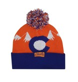 AKSELS CO MOUNTAIN BEANIE - ORANGE
