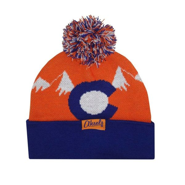 CO MOUNTAIN BEANIE - ORANGE