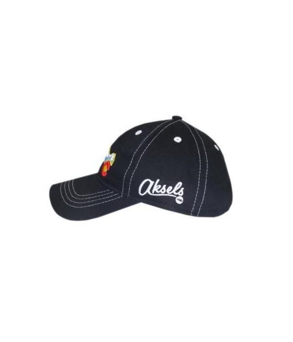 AKSELS COLORADO MOUNTAIN KIDS HAT - BLACK