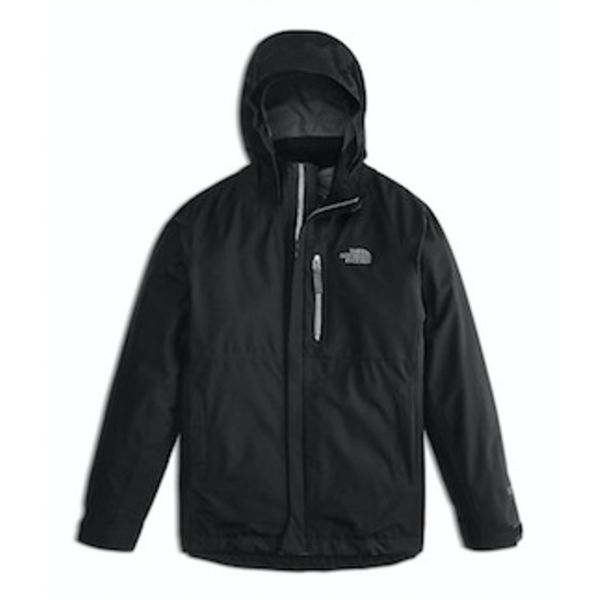 BOYS DRYZZLE GTX JACKET - TNF BLACK