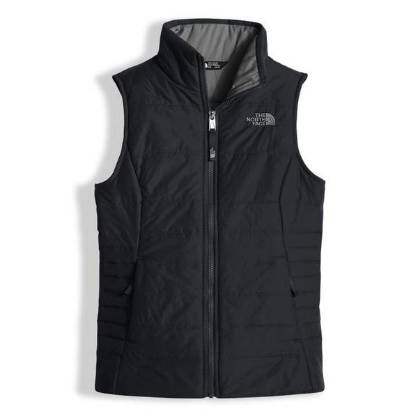 GIRLS HARWAY VEST - BLACK