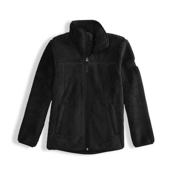 GIRLS CAMPSHIRE FULL ZIP JACKET - TNF BLACK