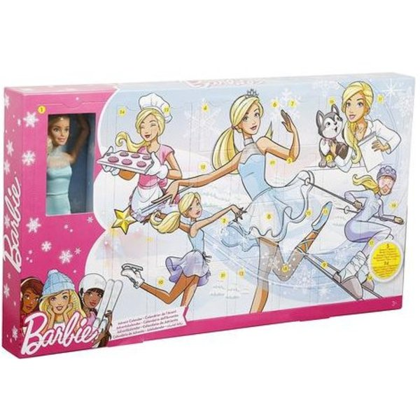 BARBIE ADVENT CALENDAR DOLL