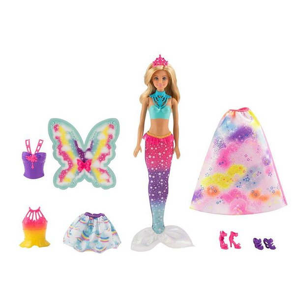 BARBIE DREAMTOPIA FAIRYTALE DRESSUP