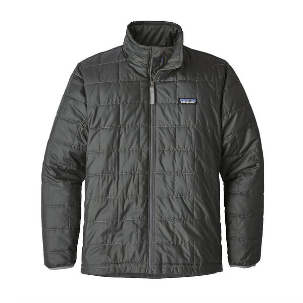 BOYS NANO PUFF JACKET - FORGE GREY
