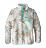 PATAGONIA GIRLS LIGHTWEIGHT SYNCHILLA SNAP-T PULLOVER - VALLEY FLORA