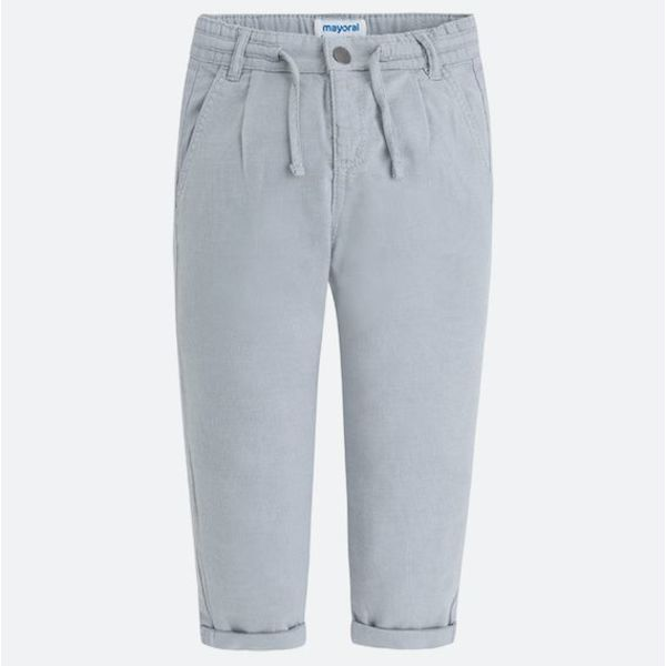 PRESCHOOL BOYS RELAXED CHINO TROUSERS - ICE