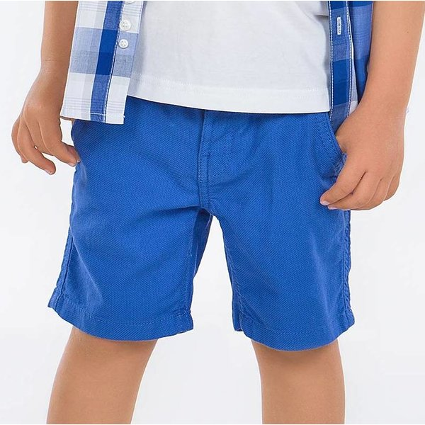 PRESCHOOL BOYS BLUE STRUCTURED SHORTS
