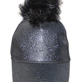 AMERICAN JEWEL GLITTER CAPS - BLACK