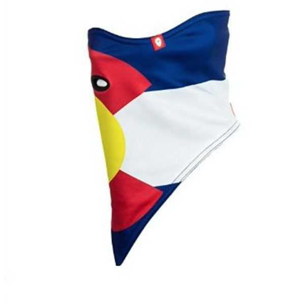 COLORADO FLAG FACEMASK STANDARD 2-LAYER
