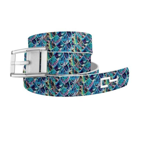 C4 CLASSIC BELT - MERMAID SCALES