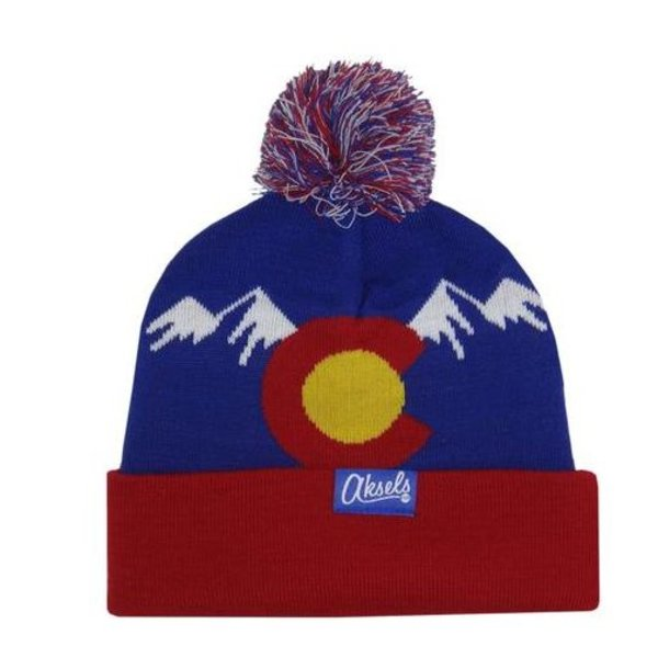 CO MOUNTAIN BEANIE - ROYAL