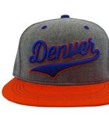AKSELS DENVER CURSIVE ORANGE HAT