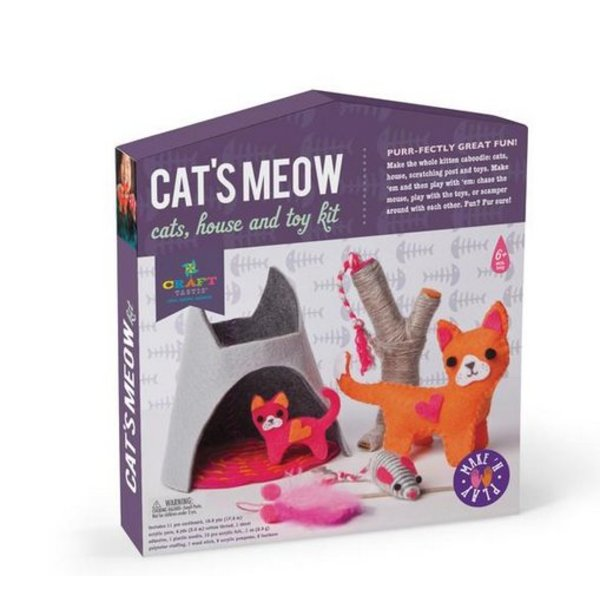 MAKE AND PLAY CATS MEOW KIT