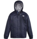 THE NORTH FACE BOY'S RESOLVE REFLECTIVE RAIN JACKET - COSMIC BLUE