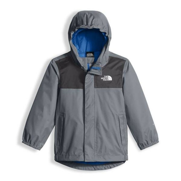TODDLER BOY'S TAILOUT RAIN JACKET - MID GREY