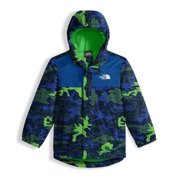 TODDLER BOY'S TAILOUT RAIN JACKET - COSMIC BLUE