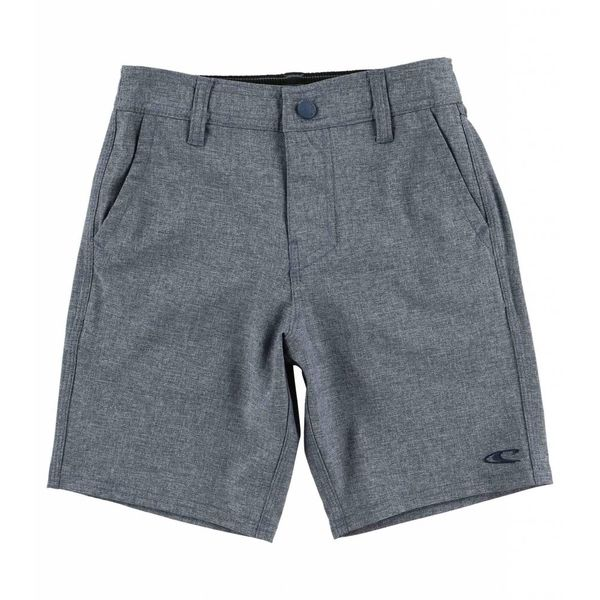 LOADED HEATHER HYBRID SHORTS - NAVY