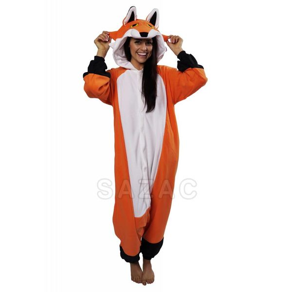 RED FOX ONESIE - ADULT (5FT-6FT)