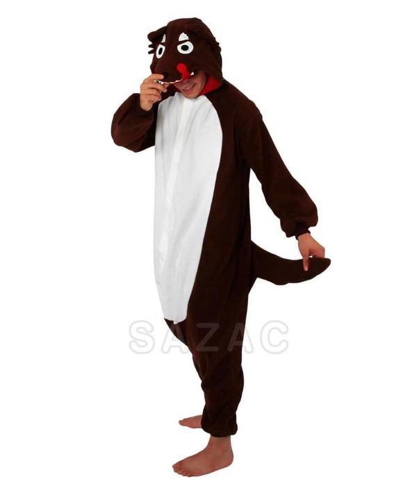 WOLF ONESIE - ADULT (5FT-6FT)