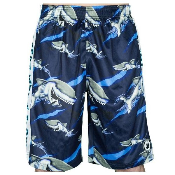 GREAT WHITE LAX SHORTS