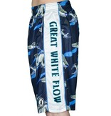 FLOW SOCIETY GREAT WHITE LAX SHORTS