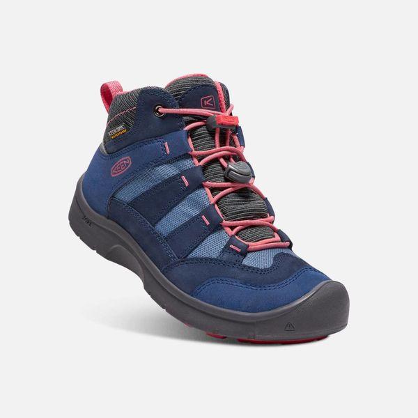 HIKEPORT WATERPROOF YOUTH - BLUES/CORAL