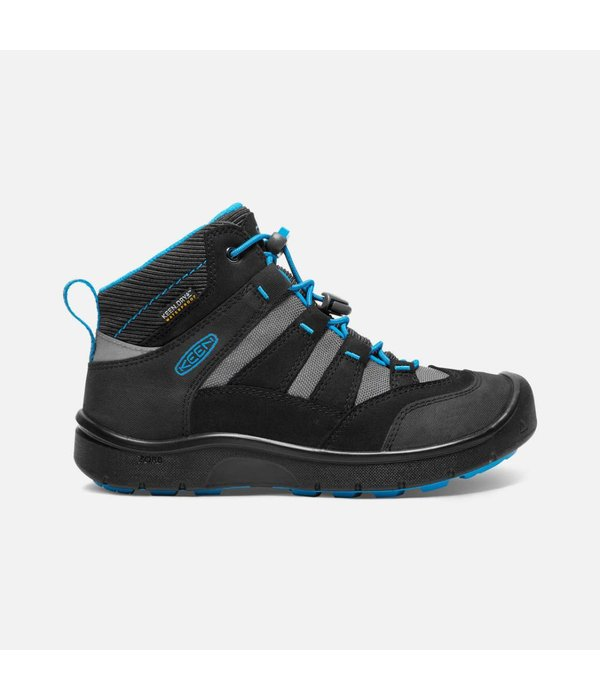 KEEN HIKEPORT WATERPROOF YOUTH - BLACK/BLUE