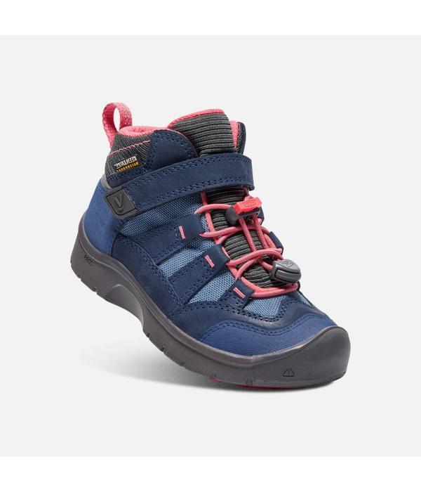 KEEN HIKEPORT WATERPROOF CHILD - BLUES/CORAL