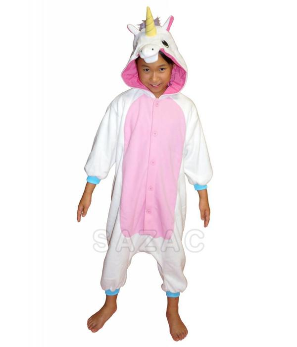 WHITE UNICORN ONESIE - KIDS (3-5 YEARS)