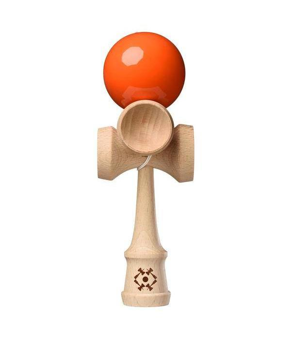 KENDAMA ORANGE TRIBUTE 5-CUP KENDAMA