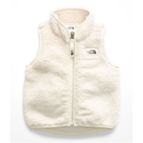 INFANT GIRLS CAMPSHIRE VEST - VINTAGE WHITE