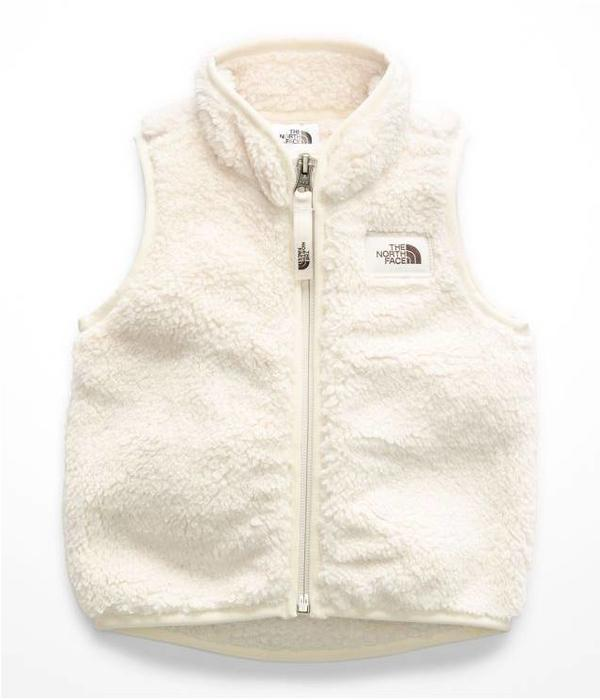 THE NORTH FACE INFANT GIRLS CAMPSHIRE VEST - VINTAGE WHITE