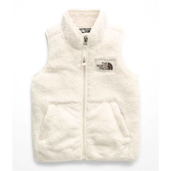 TODDLER GIRLS CAMPSHIRE VEST - VINTAGE WHITE