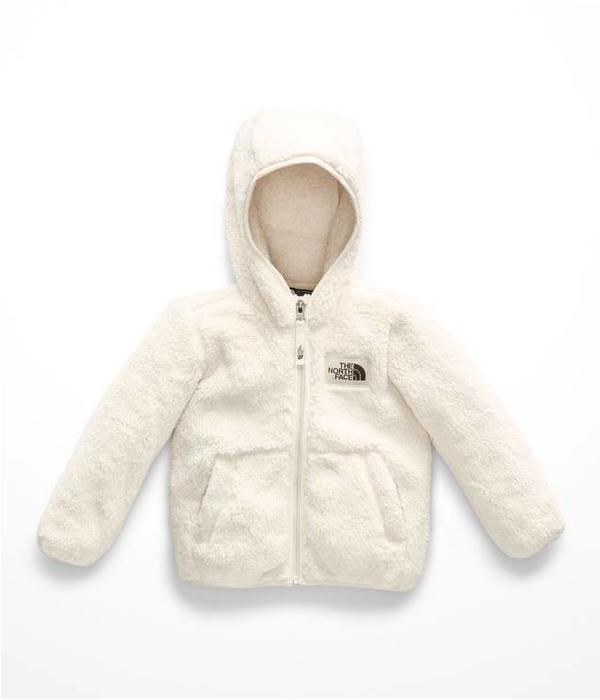 THE NORTH FACE TODDLER GIRLS CAMPSHIRE FULL ZIP JACKET - VINTAGE WHITE