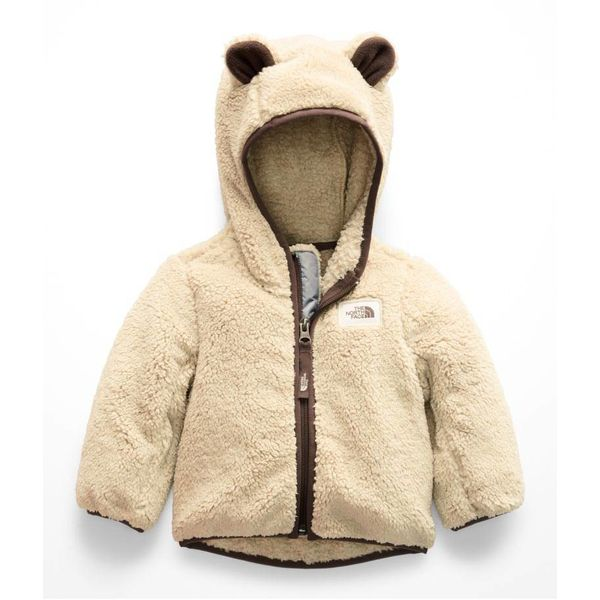INFANT BOYS CAMPSHIRE BEAR HOODIE - PALE KHAKI