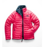 THE NORTH FACE GIRLS REVERSIBLE MOSSBUD SWIRL JACKET - ATOMIC PINK