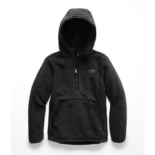 BOYS CAMPSHIRE PULLOVER HOODIE - TNF BLACK